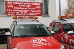 moderne Pannenhilfe-Fahrzeuge