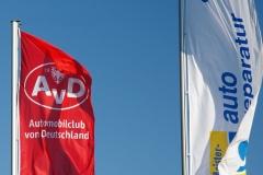 Abschleppdienst AvD Pannenhilfe Ostsee/Rostock Flaggen