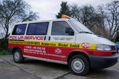 Abschleppdienst - der Pick-Up für die ganze Familie und Gepäck