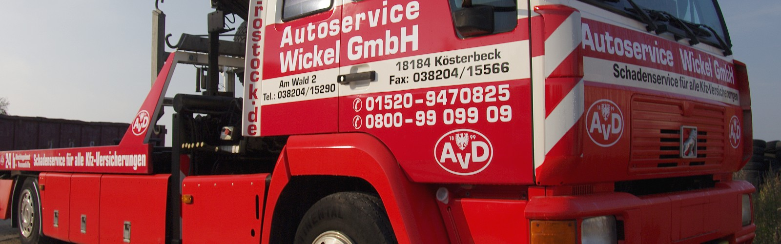 avd autoservice wickel abschleppdienst freie kfz werkstatt rostock. Black Bedroom Furniture Sets. Home Design Ideas